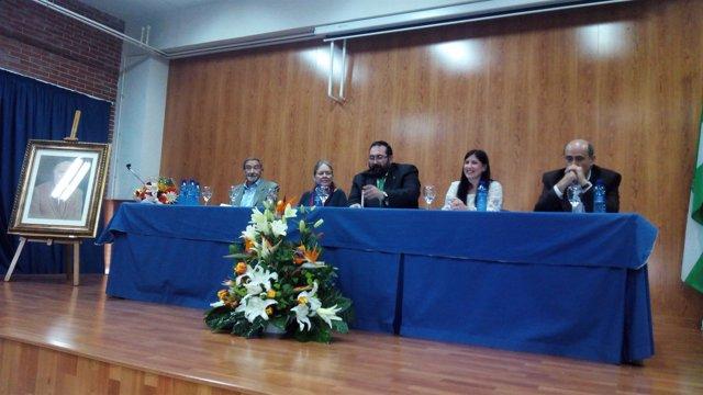 Acto de los 25 años del instituto Francisco Ayala