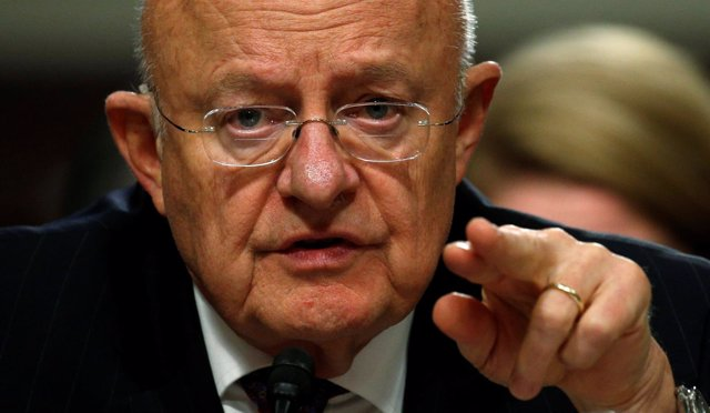 El director de Inteligencia Nacional de EEUU, James Clapper