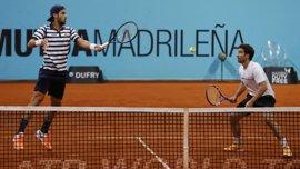 Feliciano y Marc López se clasifican para las semifinales en dobles