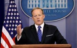 """La Casa Blanca rehuye las preguntas sobre las supuestas """"cintas"""""""