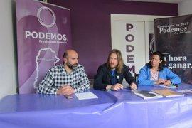 """Pablo Fernández presenta una candidatura """"integradora"""" para """"desalojar al PP del Gobierno de Castilla y León"""""""