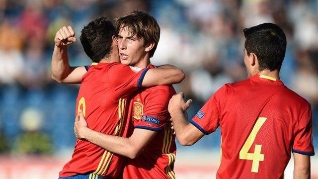 La selección española Sub-17 en el Europeo de la categoría