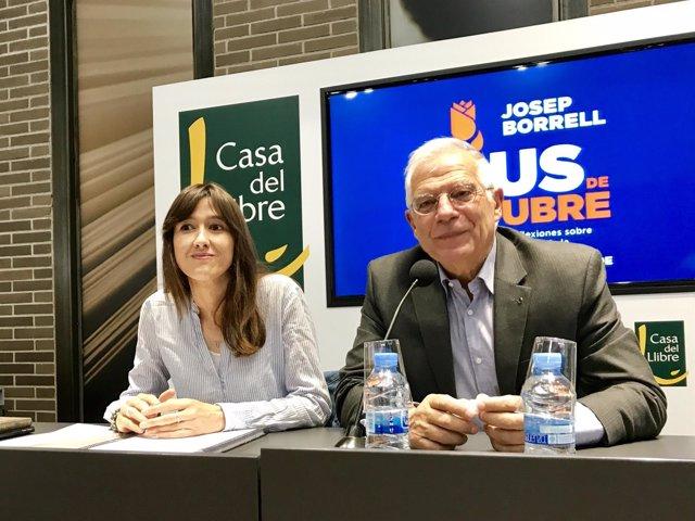 Núria Parlon y Josep Borrell, PSC