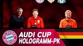 El Atlético de Madrid participará en la Audi Cup el próximo mes de agosto
