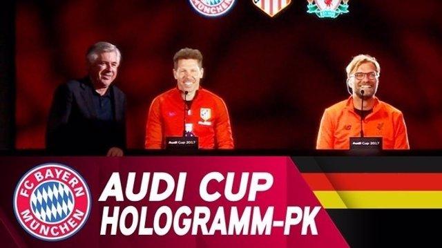 La Audi Cup fue presentada este viernes