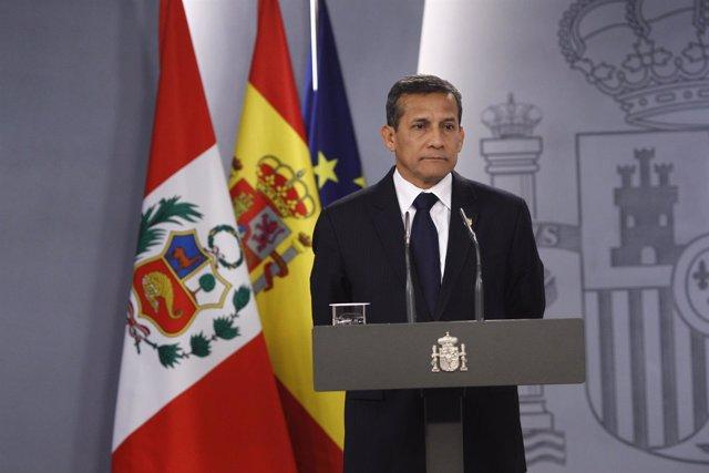Ollanta Humala en la Moncloa