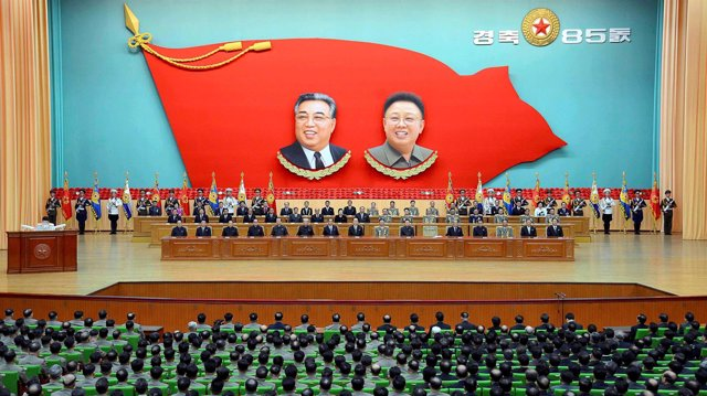 Reunión de dirigentes en Corea del Norte