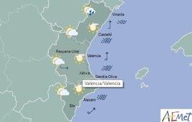 Las máximas rozan los 29 grados en un sábado con chubascos dispersos en el interior de Castellón
