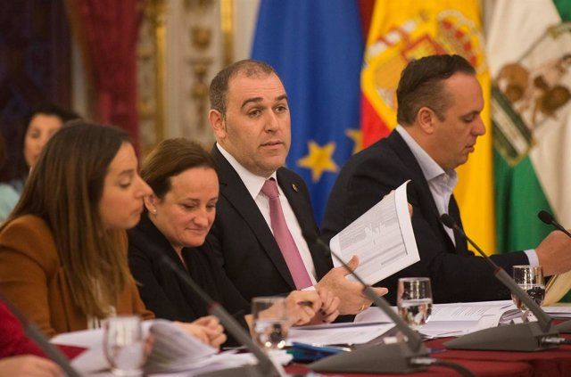 Jesús Solís, diputado provincial de Economía en Cádiz