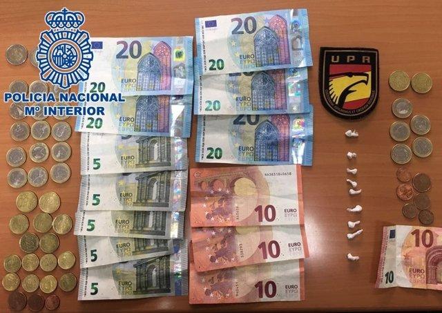 "Nota De Prensa: ""La Policía Nacional Detiene A Un Hombre Por Tráfico De Drogas E"