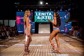 La Playa de Las Canteras se transforma en una pasarela gracias al '+Q Moda Canarias tribute Lenita & XTG'