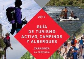 La DPZ edita una guía sobre las empresas de turismo activo, los campings y los albergues de la provincia