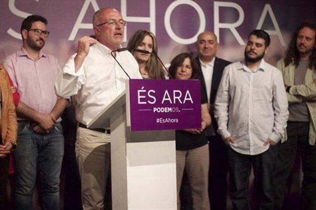 El anterior líder de Podem ya anunció que no volvería a presentarse
