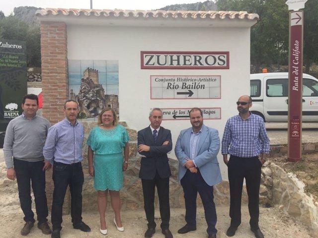 Arreglo de la CO-6203 entre Luque y Zuheros (Córdoba)