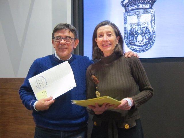 Roberto Sánchez Ramos  y Mercedes González