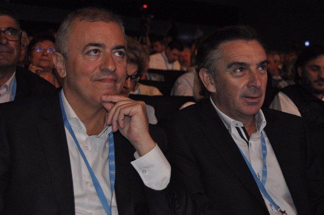 Javier Campoy y Luis María Beamonte