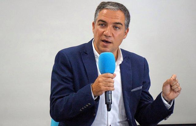 El portavoz del PP-A, Elías Bendodo