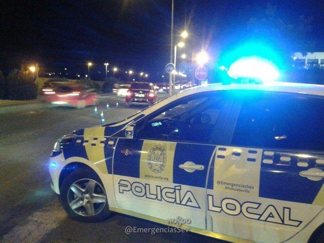 Detenido por la Policía Local tras persecución de 10 kilómetros