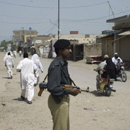 Policía en Pakistán
