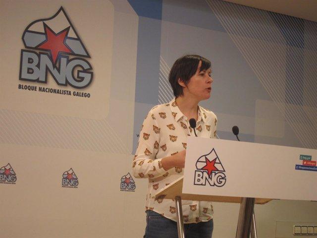 Ana Pontón, portavoz nacional del BNG