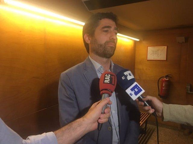 El secretario de Telecomunicaciones de la Generalitat, Jordi Puigneró.