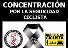 Ciclistas valencianos se concentran el próximo domingo tras el atropello mortal en Oliva