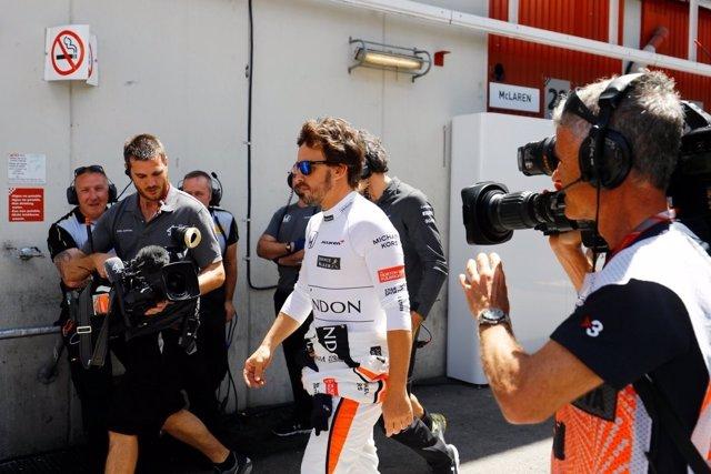 Fernando Alonso Gran Premio España Barcelona