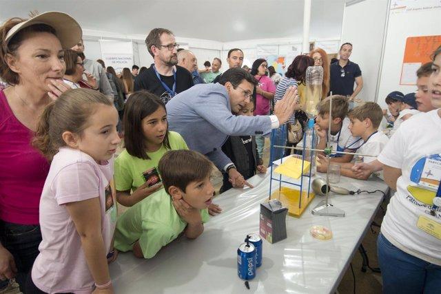 Feria de la Ciencia celebrada en el Parque de la Ciencia de Granada
