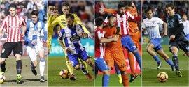 Leganés y Deportivo viajan a por un punto salvador que condene al Sporting