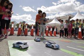 """Autopistas celebra una jornada de seguridad vial en Logroño """"para formar a los conductores del futuro"""""""