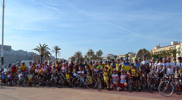 El grupo se ha reunido en la localidad castellonense para practicar deporte