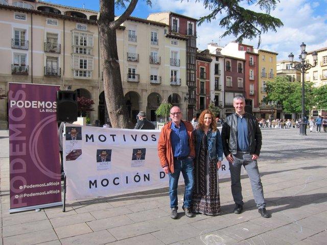 Podemos Explica Su Moción De Censura En Logroño