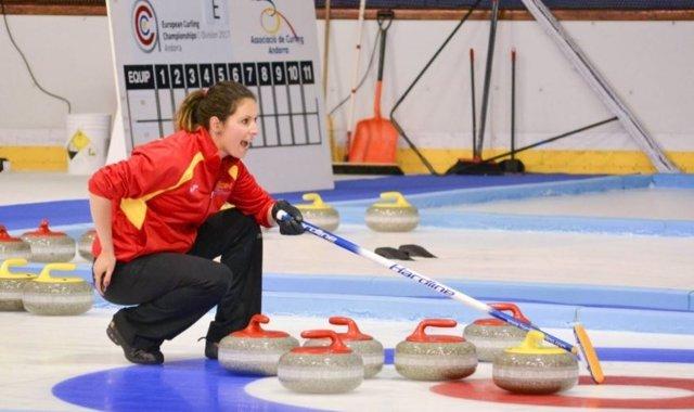 Selección española de curling en el Europeo C de 2017