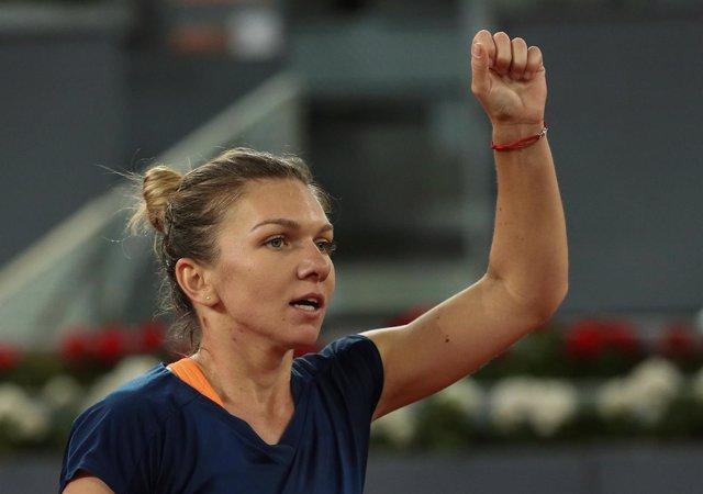 Simona Halep, campeona en Madrid 2017