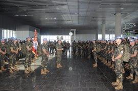 Comienza el relevo del contingente español en el Líbano con la partida de 227 militares desde Gran Canaria