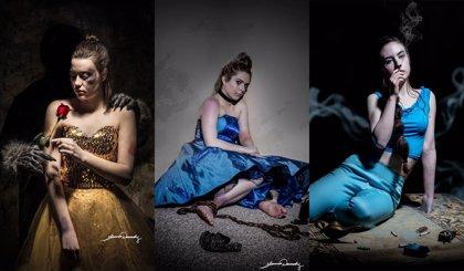 Una fotógrafa usa a las Princesas Disney para retratar los males de nuestra sociedad