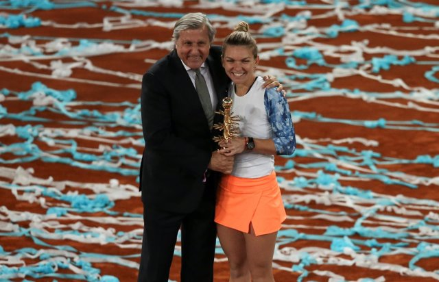Mutua Madrid Open Simona Halep Illie Nastase