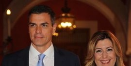 Comienza el debate entre Pedro Sánchez, Susana Díaz y Patxi López