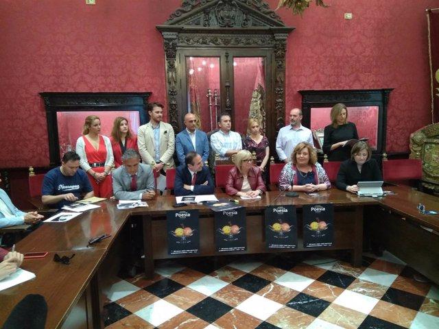 Presentación del 14 Festival Internacional de Poesía de Granada