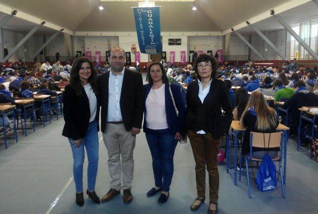 """Celebración de la Olimpiada Matemática del IES """"Guadalentín"""" de Pozo Alcón"""