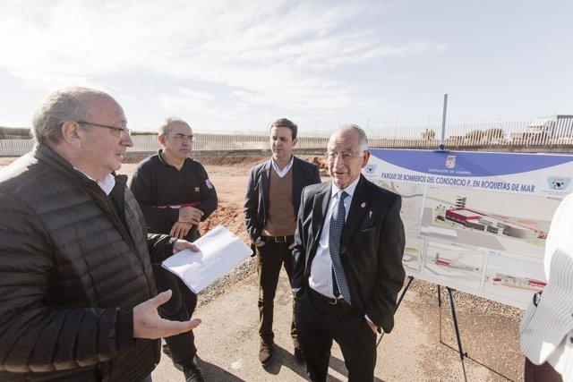 Las obras del nuevo Parque de Bomberos de Roquetas empezarán en mayo