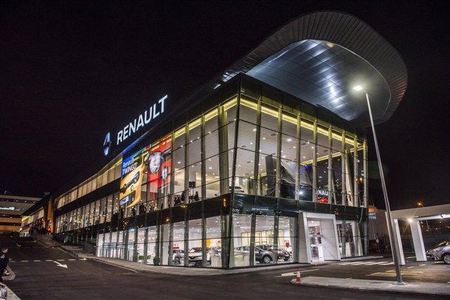 Concesionario de Renault en Avenida de Burgos