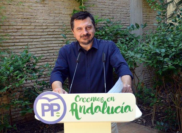 El vicesecretario del Organización y Formación del PP andaluz, Toni Mart