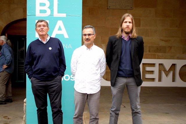 Soria.- Jean Pierre Lohrer, Nicanor Pastraña y Pablo Fernández