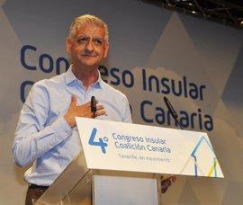 Francisco Linares, elegido secretario general insular de CC en Tenerife
