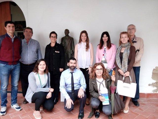 Reunión de técnicos de municipios de la Ruta Blas Infante