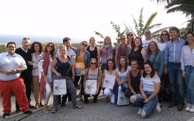 Almuñécar Muestra Sus Atractivos Para Turismo Educacional A 15 Agentes De Viajes