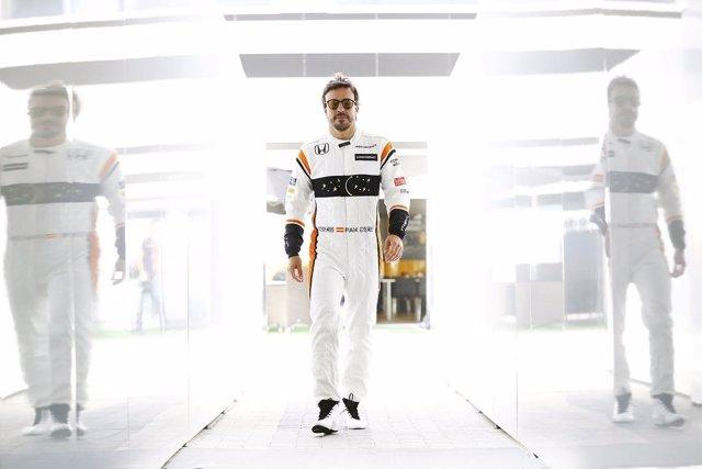 Fernando Alonso McLaren Gran Premio España Barcelona Montmeló