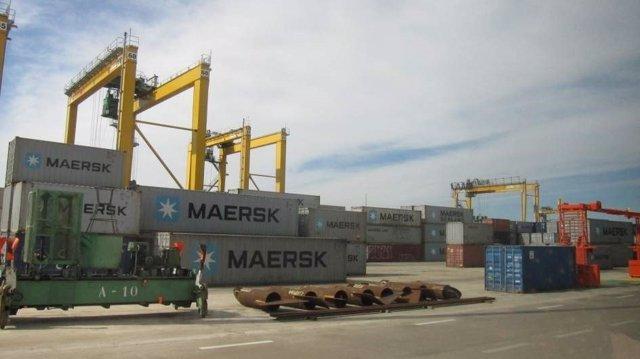 Imagen de archivo de las instalaciones portuarias de València