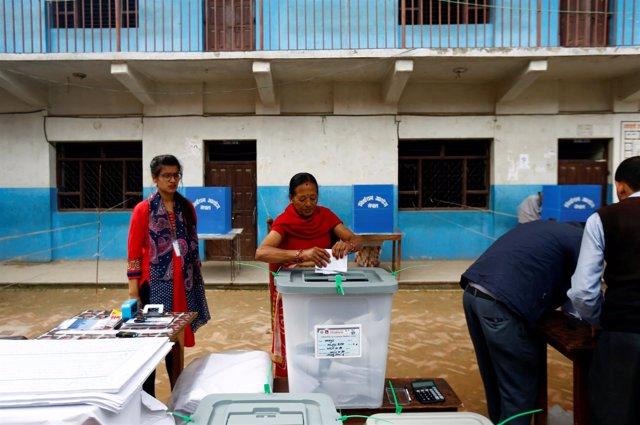 Elecciones locales en Nepal
